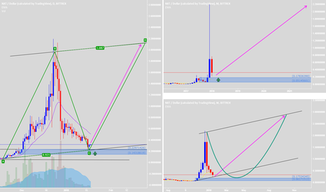 NXTUSD: Good time to buy and HODL with AB=CD pattern