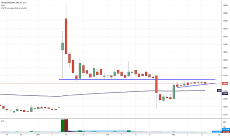 TBIO: $TBIO could be ready for a run