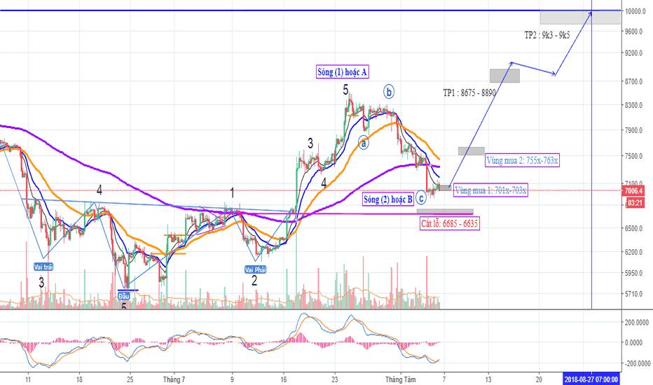 BTCUSD: Bitcoin ngắn và trung hạn (Newton Group)