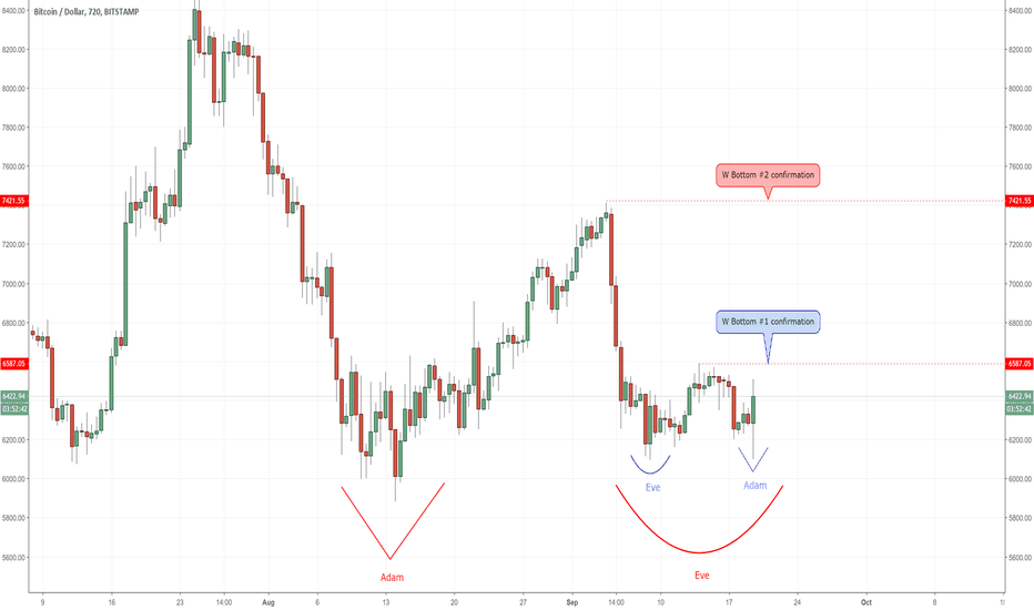 "BTCUSD: A double ""W Bottom"" hypothesis"