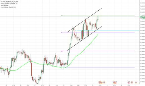 USDZAR: USD/ZAR 1H Chart: Channel Up