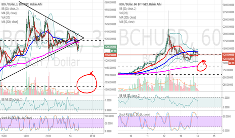 BCHUSD: BCHUSD doesn't look positive