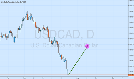 USDCAD: A risk worth taking (Long USDCAD)