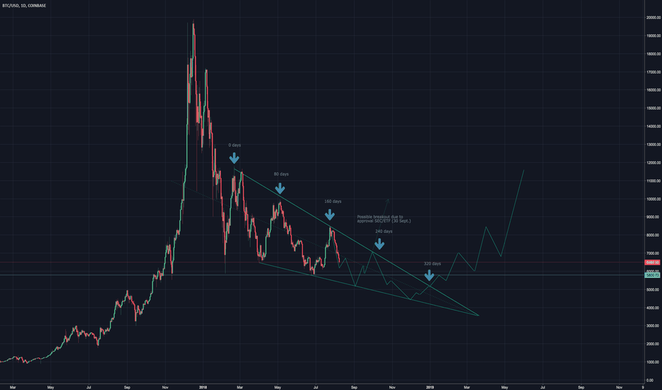 BTCUSD: BTC/USD: The correction of 2018. Does the ETF wakes the bull?