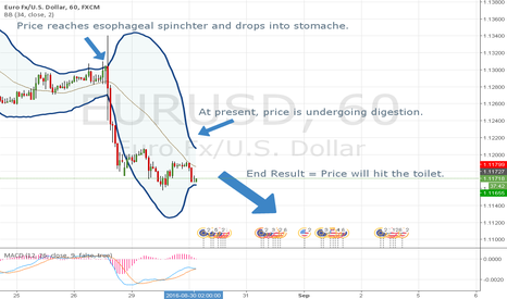 EURUSD: A lesson in Bollinger Band Anatomy