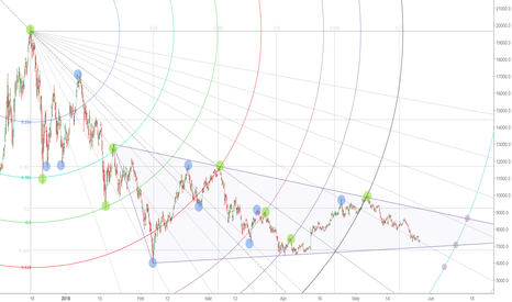 BTCUSD: A Fib circle that captures top and bottoms from 2013 ATH to 2018
