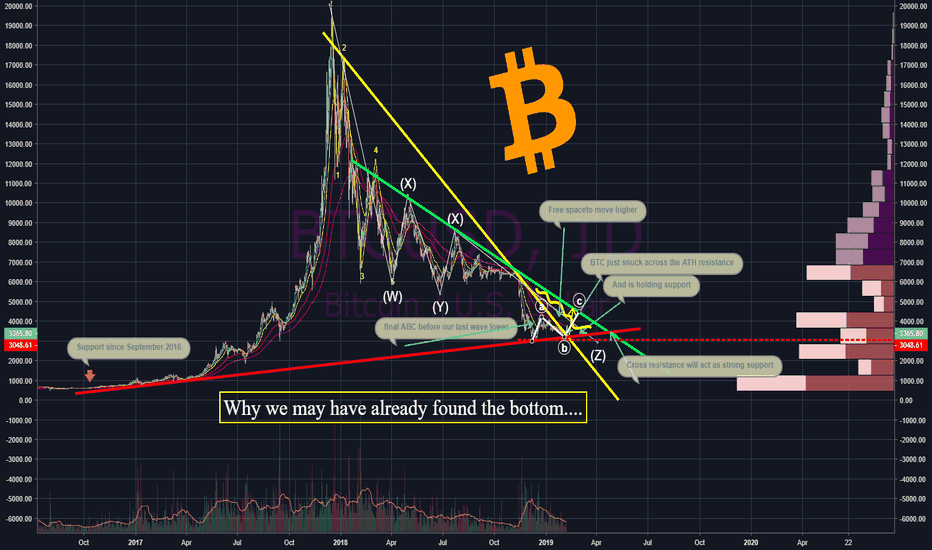 BTCUSD: BTC... IS THE BOTTOM IN? AND WHY DO WE CARE?