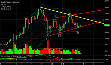 BTCUSD: Wolfe... bitcoin to the moon?