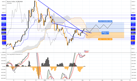 BTCUSD: Buy the bitcoin after the pullback on the support area