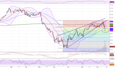 CLX2012: WTI Crude 23 Sep 2012
