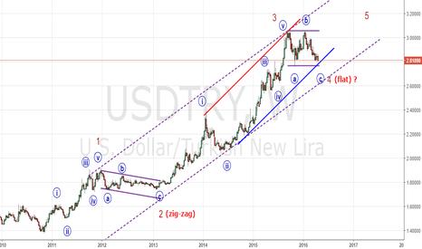 USDTRY: usdytry w bull wave-5