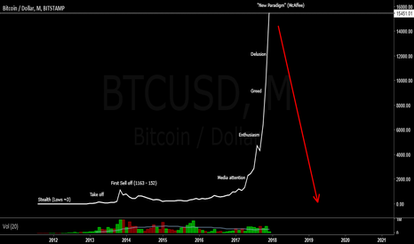BTCUSD: Bitcoin Bubble Stages