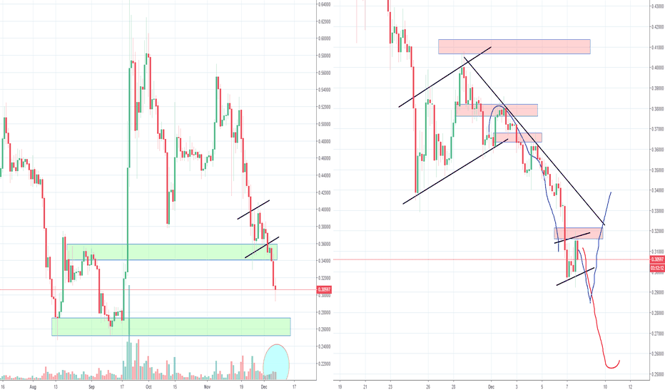 XRPUSD: XRP Ripple Looking bad with this Big Bear Flag, Part 4