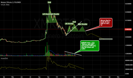 XMRBTC: H&S  XMR.............Enjoy!