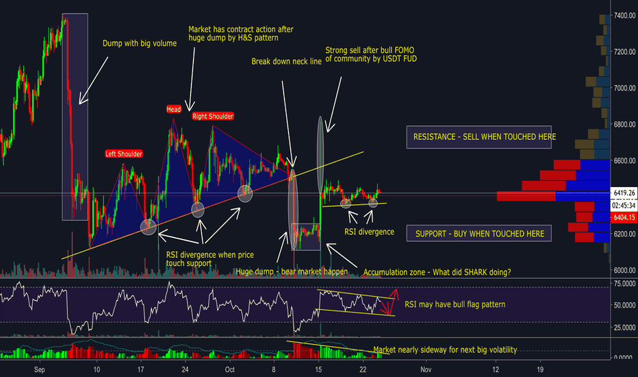 BTCUSD: EXPLAIN ACTION OF BITCOIN -  RECOMMENDED STRATEGY