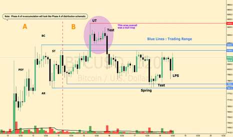 BTCUSD:  Bitcoin Case for Re-Accumulation BTCUSD BTC XBT
