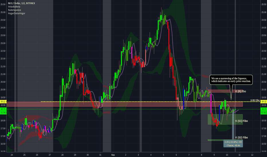 NEOUSD: Analysis of NEO / USD in TF 122 minutes
