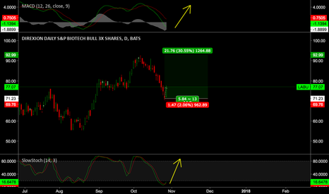 LABU: Buy leveraged equities and look away