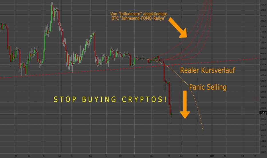 BTCUSD: STOP BUYING CRYPTOS!