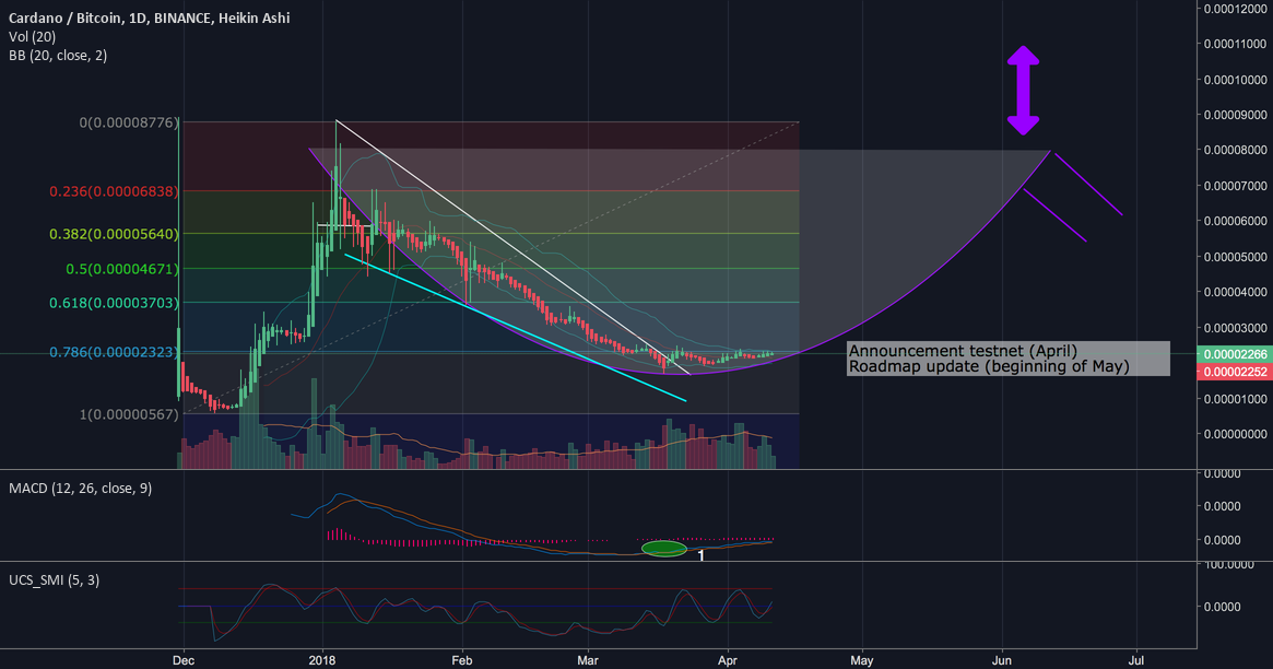 Cardano to follow suit on the Verge (XVG) breakout? (+600% pot.)