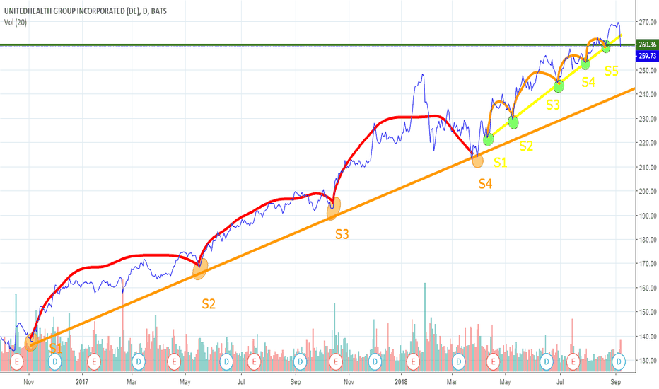 UNH:  UNH (NYSE: UNH) broke the support, will continue to fall?