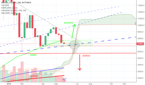 BTCUSD: Bitcoin BTC - The End is Nigh or To The Sky