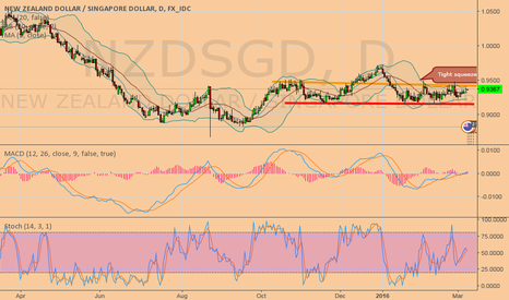 NZDSGD: Extoic pair tight squeeze look for large breakout