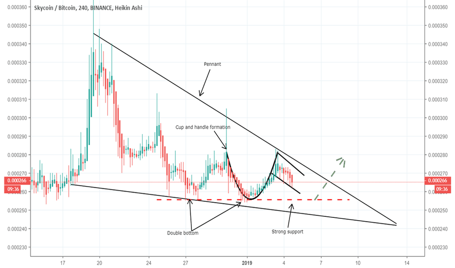 SKYBTC: SKYBTC a breakout from pennant is expected soon