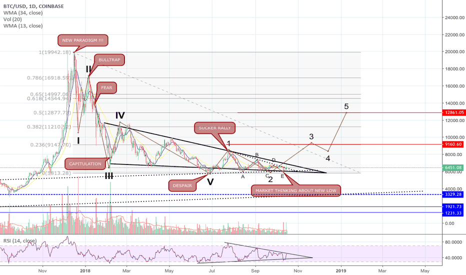 BTCUSD: I WILL CALL THE END OF THE CRASH.