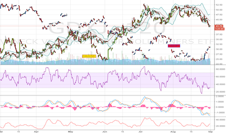 GDXJ: Gold Miners - 6mo