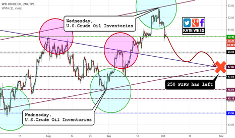 USOIL: From Bitcoin to Crude Oil. Plan for this week.