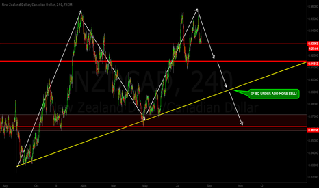NZDCAD: NZDCAD - SHORT SETUP (MEDIUM/LONG TERM)
