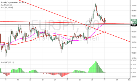 EURJPY: EURJPY Sitting on Support.