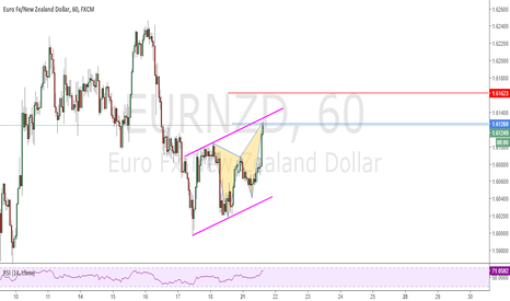 EURNZD: Complete Butterfly Pattern