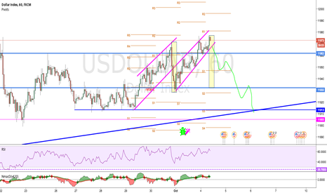 USDOLLAR: After pushing up by an asian close session and UK FM comments