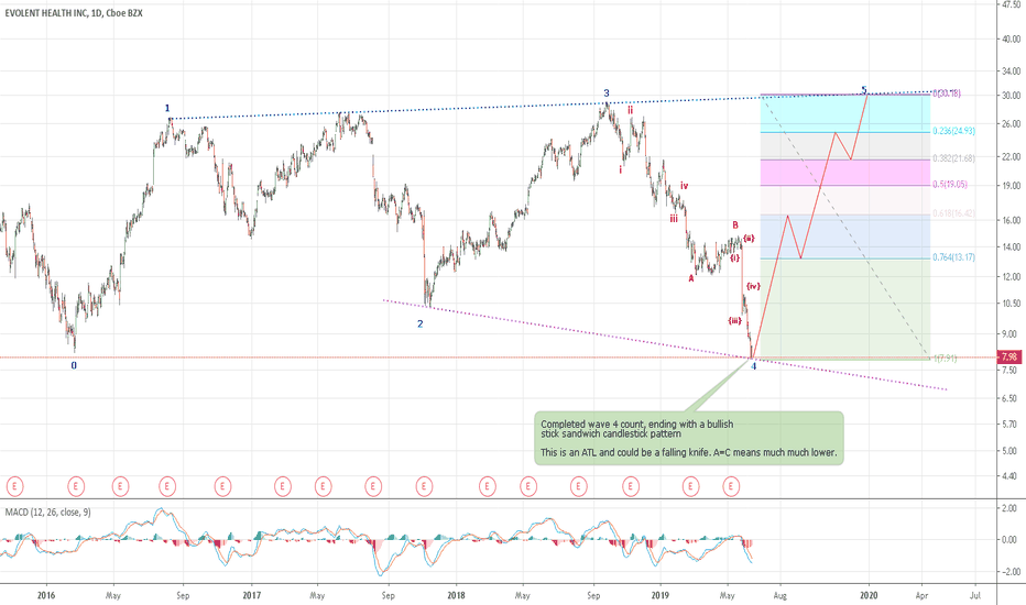 EVH Stock Price and Chart — NYSE:EVH — TradingView