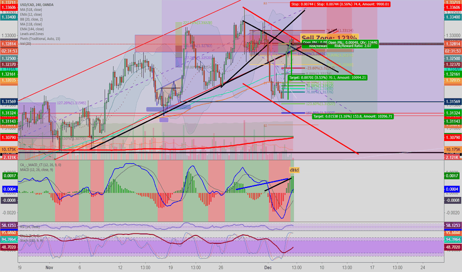 USDCAD: USDCAD: Central Bank Speculating