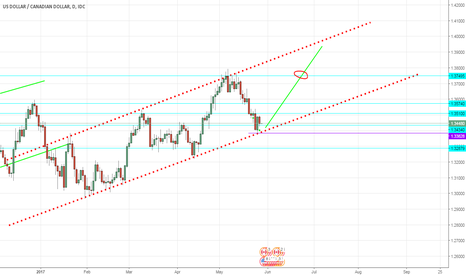 USDCAD: USDCAD LONG IN THE TREND LINE AFTER THE REJECTION.