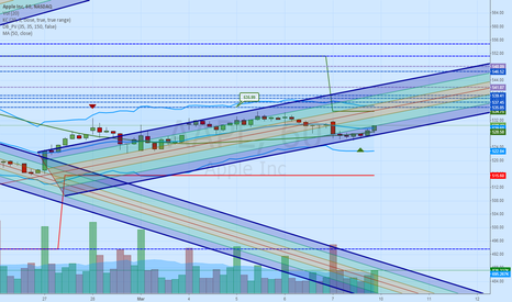 AAPL: AAPL One Hour Channel
