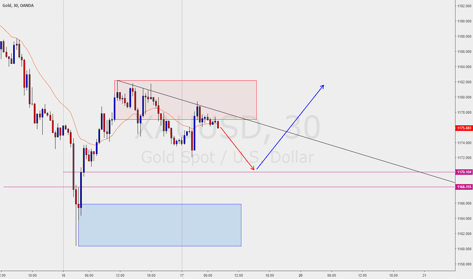 XAUUSD: Intraday idea for Gold