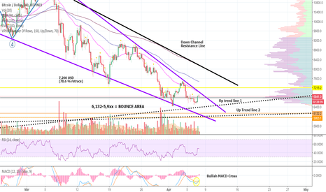 BTCUSD: CRAZY, CRAZY DAY for Bitcoin - Let D4rkEnergY Tell You WHY!