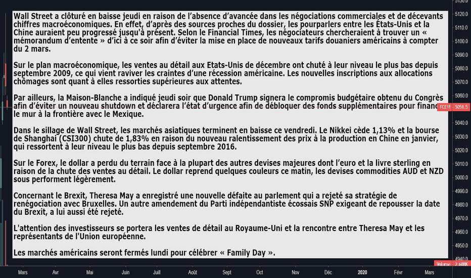 FCE1!: Briefing de l'actualité 15.02.19