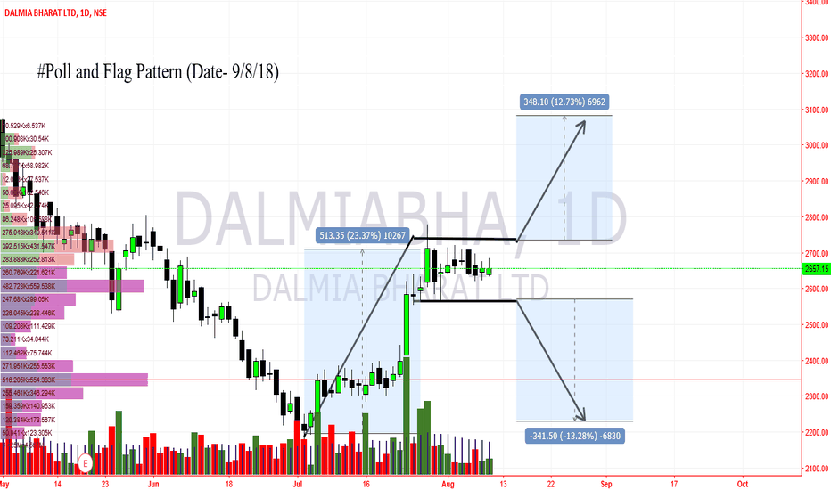 DALMIABHA: Dalmia Bharat- Poll and Flag pattern