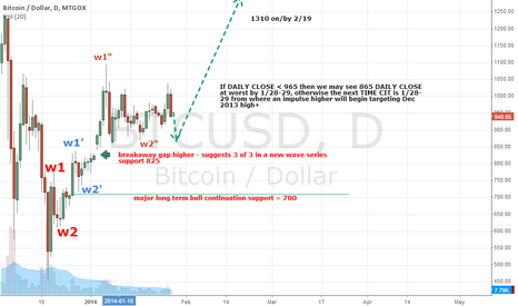 BTCUSD: BTCUSD - Major TIME pivot on Jan 28-29th, 2014