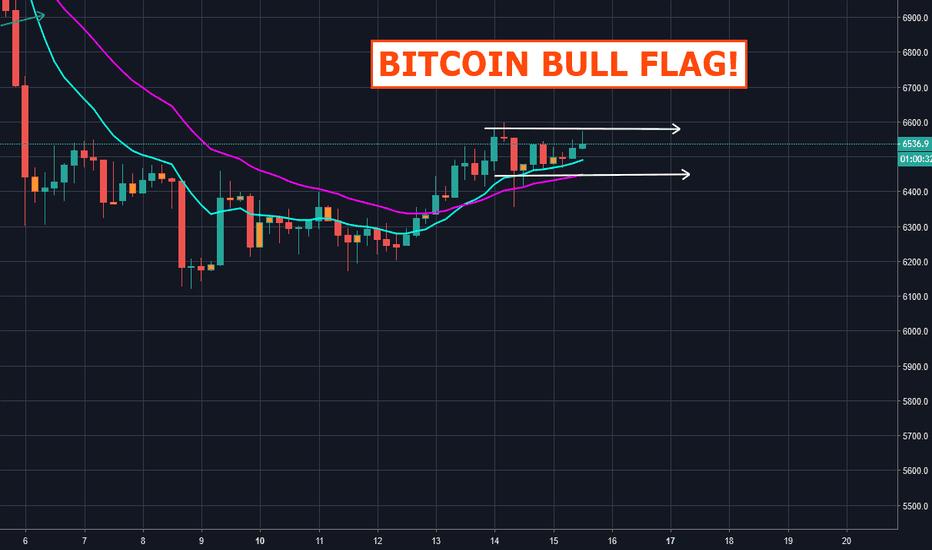 BTCUSD: Bitcoin Bull Flag!