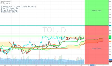 TOL: Trader Makes a $6.3 million Bet in TOL