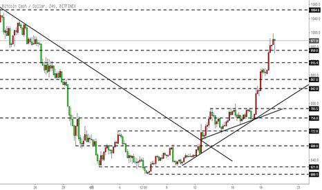 BCHUSD: 比特币现金BCH-继续任性地上涨