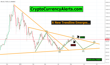 BTCUSDT: Bitcoin Update- BTC/USD - A New Trendline Appears!