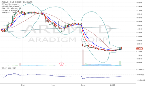 ARDM: ARDM -Very speculative Long from current label to $2.87