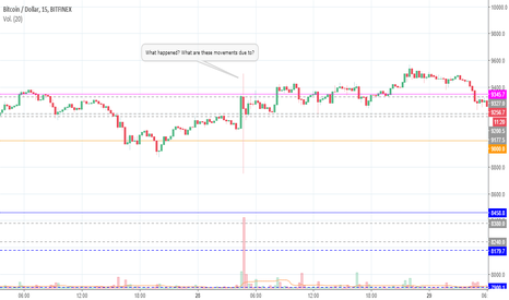 BTCUSD: BTCUSD: What happened? What are these movements due to?